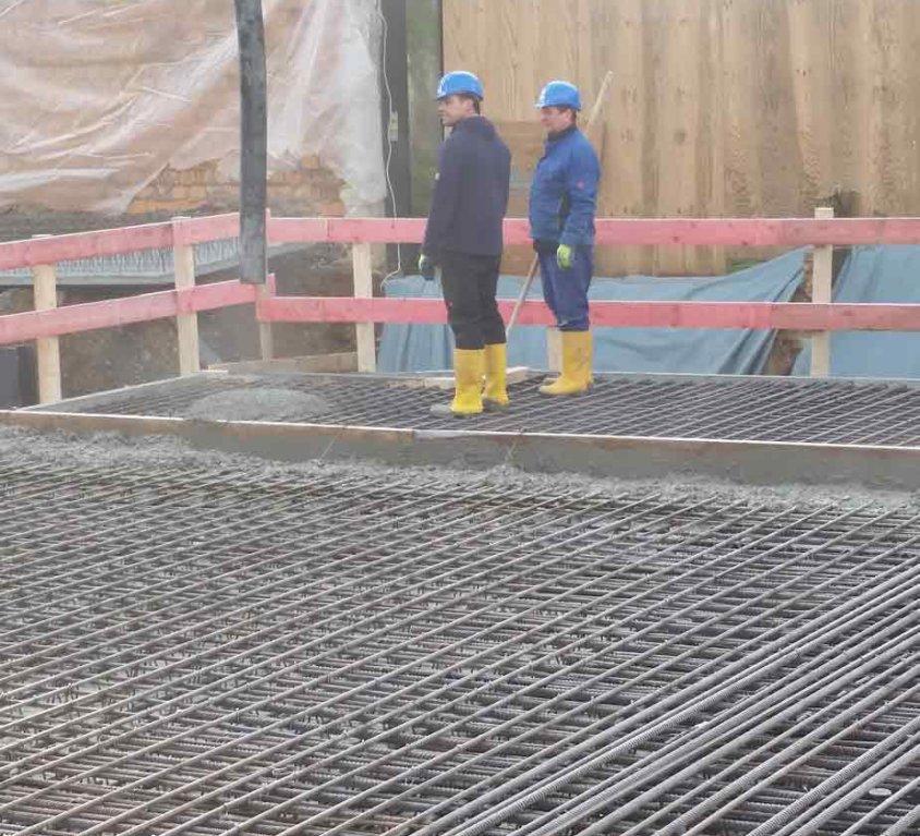 Stahlbetonarbeiten