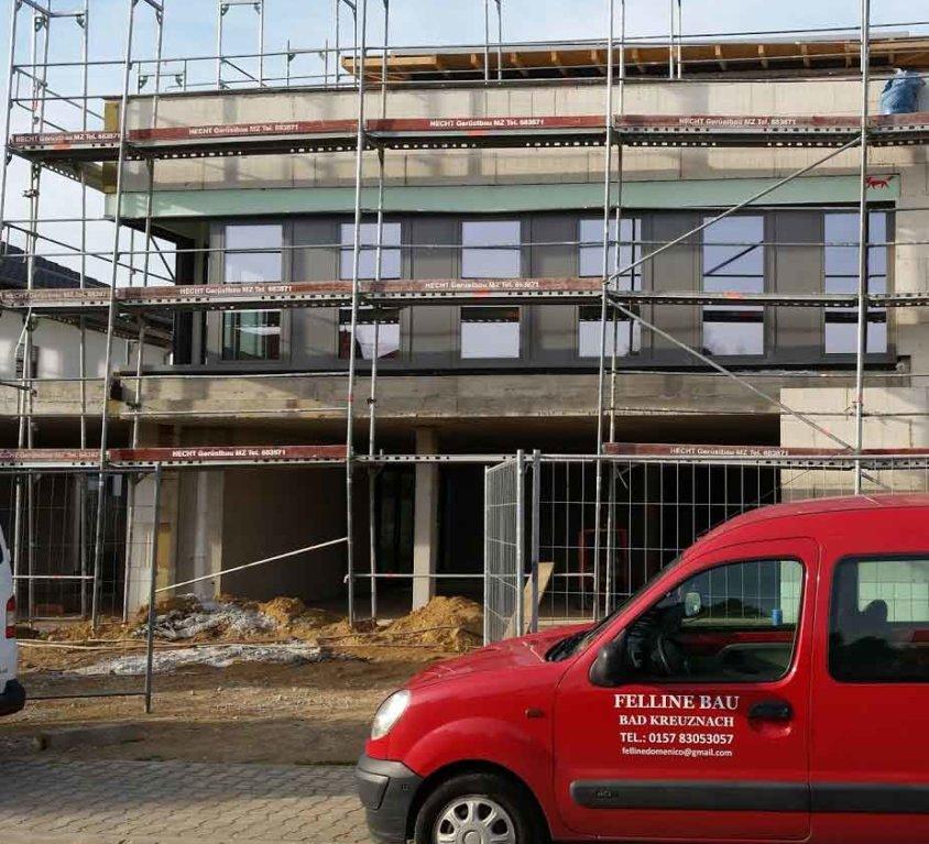 Neubau Geschäftshaus in Hochheim