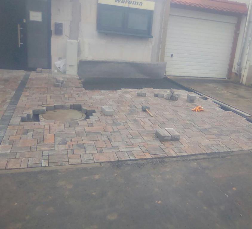 Pflasterarbeiten Außenanlage